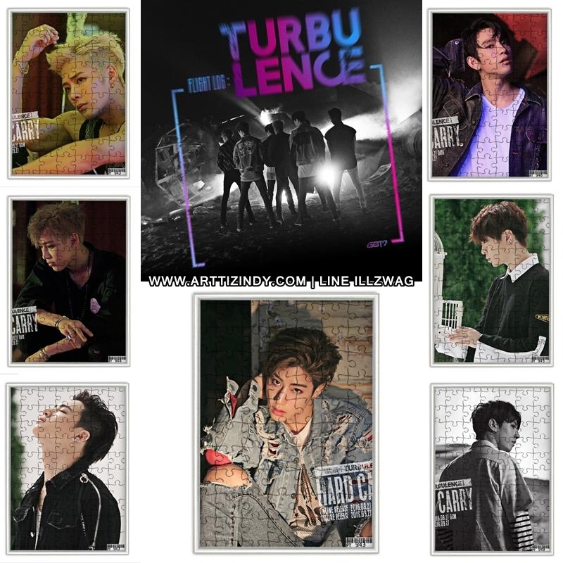 จิ๊กซอ+กรอบรูป GOT7 TURBULENCE - HARD CARRY (B) -ระบุสมาชิก-
