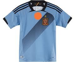 เสื้อทีมชาติ เสปน 2013 ทีมเยือน