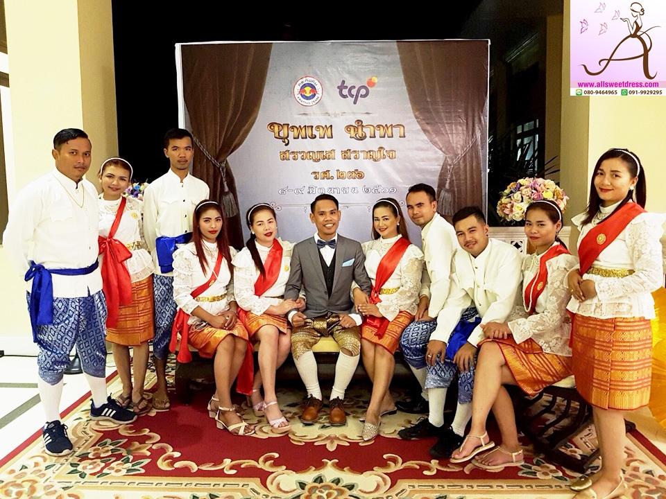 รีวิวชุดไทยบุพเพสันนิวาสแบบราชประแตน รัชกาลที่ 5 และแบบท่านหมื่น การะเกดย้อนยุคสวยเป็นเซทกับทีมกระทิงแดง