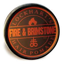 LOCKHART'S FIRE AND BRIMSTONE - Medium Hold (Oil Based) ขนาด 4 oz.