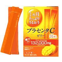 Otsuka Placenta C Jelly จากญี่ปุ่น เจลลี่เพื่อผิวสวยมีรกแกะ 132000 mg และคอลลาเจน 31 ซอง