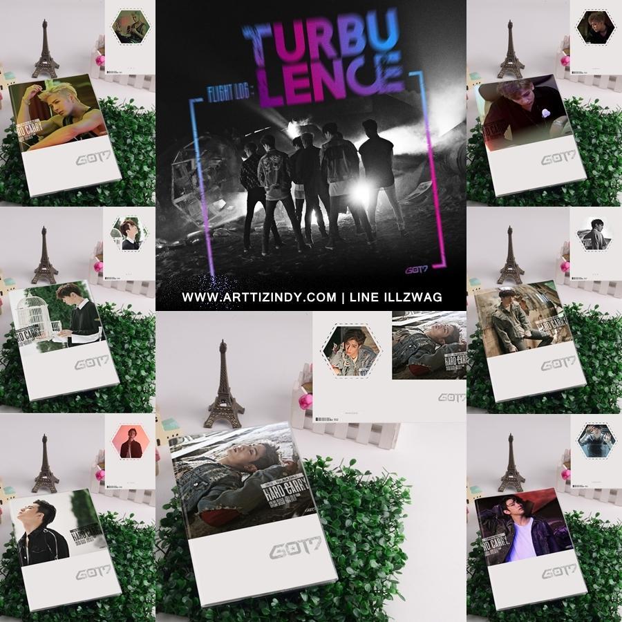 สมุดโน๊ต GOT7 TURBULENCE - HARD CARRY -ระบุสมาชิก-