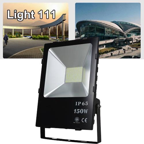 สปอร์ตไลท์ LED 150w (มอก.) แสงสีวอมไวท์ ( รุ่นใหม่ )