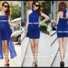 Sexy Dress 23 สีน้ำเงิน