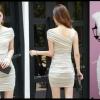 Sexy Dress 10 สีครีม