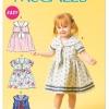 แพทเทิร์นตัดชุดเด็กหญิง Mccalls 6913 Size: 6M-1-2-3-4