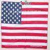 ลายธงชาติอเมริกา 1 ผืน ผ้าพันคอ ผ้าโพก