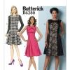 แพทเทิร์นตัดเดรสสตรี Butterick 6280 Size: 6-8-10-12-14 (อก 30.5-36 นิ้ว)