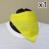สีเหลือง สี่เหลี่ยม53ซม ผ้าพันคอกีฬาสี ผ้าเช็ดหน้าผืนใหญ่