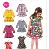 แพทเทิร์นตัดชุดเดรสเด็กหญิง Mccalls 6982 Size: 2-3-4-5