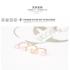 Pink Diamond Triple Ring