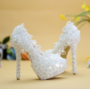 รองเท้าเจ้าสาว ไซต์ 34-40 ส้นสูง 8,11,14 ซม.