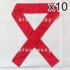 10ชิ้น ผ้าคาดหัว พันข้อมือ พันแขน 5*110ซม สีแดง