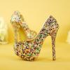 รองเท้าเจ้าสาว ไซต์ 35-40 ส้นสูง 6,8,11,14 ซม.