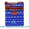 ของฝากจากไทย กระเป๋าสะพายลายช้างสายหนัง แบบ 29 สีน้ำเงิน
