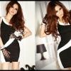 Sexy Dress 5 สีดำขาว