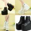 รองเท้าส้นเตารีด ไซต์ 35-40 สีดำ สีขาว (รองเท้าส้นตึก)