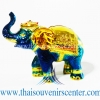 ของพรีเมี่ยม ของที่ระลึกไทย ช้าง แบบ 16 Size S สีน้ำเงิน