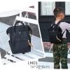 LM01 กระเป๋าเป้มินิ - สีดำ
