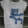 เสื้อยืดแฟชั่น ลายแมว ปักเลื่อม สวยน่ารัก
