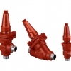 REG, regulating valves