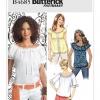 แพทเทิร์นตัดเสื้อสตรี Butterick B4685 Size: 6-8-10-12-14 (อก 30.5-36 นิ้ว)