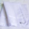"""#125 18"""" สีขาว ผ้าเช็ดหน้ามือ2 สภาพดี ผ้าเช็ดหน้าผืนใหญ่"""