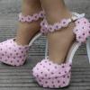 รองเท้าเจ้าสาวสีชมพู ไซต์ 34-41