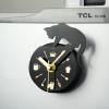 นาฬิกาแม่เหล็กติดตู้เย็น ขนาด 8.5 ซม gear38