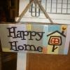 ป้ายแต่งบ้าน Happy Home