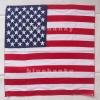 ผ้าพันคอBandannasไซส์บิ๊ก 28นิ้ว ธงชาติอเมริกา