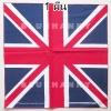 ลายธงชาติอังกฤษ สหราชอาณาจักร 1 ผืน ผ้าพันคอ ผ้าโพก