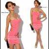 Sexy Dress 9 สีชมพู