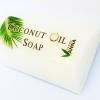 สบู่ก้อนจากน้ำมันมะพร้าวสกัดเย็น coconut oil soap 100g. สำหรับผิวกายและใบหน้า