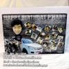 015-มิกซ์รูป หัวโตโยกเยก 12x18 นิ้ว กรอบลอย ใส่นาฬิกา