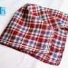 """#39 18"""" FIORUCCI ITALY ผ้าเช็ดหน้ามือ2 สภาพดี ผ้าเช็ดหน้าผืนใหญ่"""
