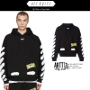 (พร้อมส่ง XL ) Hoodie OFF-WHITE c/o Virgil Abloh Diagonal Spray 17ss