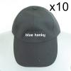 10ใบ สีดำ ฟรีไซส์ ราคาถูก หมวกกีฬาสี
