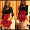Sexy Dress 12 สีแดง