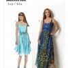 แพทเทิร์นตัดเดรสสตรี Butterick B6021 Size: 8-10-12-14-16 (อก 31.5-38 นิ้ว)