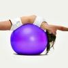 ฟิตบอล ออกกำลังกายลดหน้าท้อง ลูกบอลโยคะ FIT BALL Exercise Ball ขนาด 95cm สีม่วง
