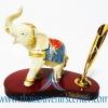 สินค้าพรีเมี่ยม ช้างทรงเครื่องกับที่เสียบปากกา แบบที่ 28