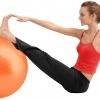 หุ่นเฟิร์ม เป็นคนใหม่ด้วยลูกบอลโยคะ (Fitness Ball) ขนาด 75cm สีส้ม