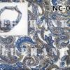NC097 ผ้าพันคอลายเพลสลี่หยดน้ำ ผืนใหญ่ใช้คาดหัว พันคอ