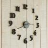 นาฬิกาติดผนัง DIY สีดำ ขนาด 40 ซม CD111