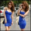 Sexy Dress 9 ( เซ็กซี่ เดรส 9 ) สีน้ำเงิน