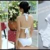 Happy Summer 001 สีขาว ไซส์ L