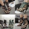 รองเท้าส้นสูงสีเขียว/ดำ ไซต์ 35-40