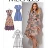 แพทเทิร์นตัดเดรสสตรี McCalls 7537 Size: 6-8-10-12-14
