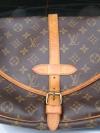 Used LV Saumur monogram 30